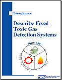 Describe Fixed Toxic Gas Detection Systems–system components, operation, and maintenance. Self-instructional training kit and orientation checklist.